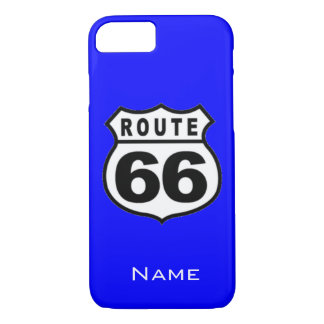 SALE - Custom Name Route 66 iPhone 7 case