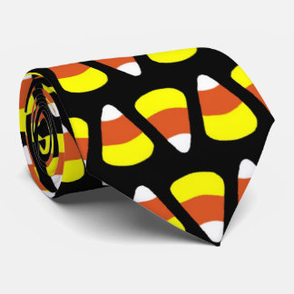 SALE - Fun Halloween Candy Corn Tie