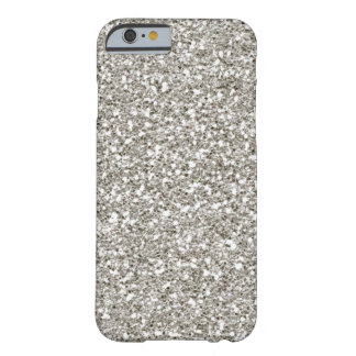 SALE Gorgeous Silver Glitter iPhone 6 case
