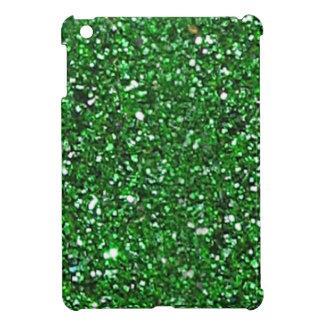 SALE Green Glitter Mini iPad Case - Xmas, St. Pat iPad Mini Case