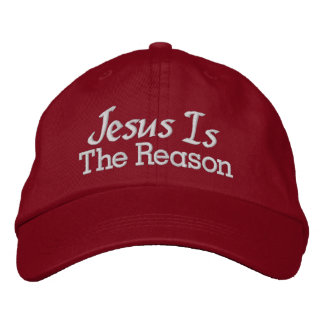 SALE! Jesus is the Reason Embroidered Baseball Cap