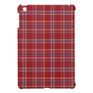 SALE - Mini iPad Case Red Tattersall Plaid