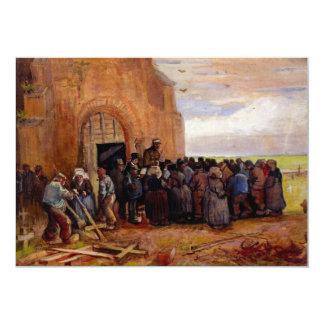 Sale of Building Scrap by Vincent van Gogh Card
