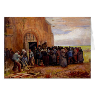 Sale of Building Scrap by Vincent van Gogh Stationery Note Card