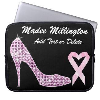 Sale! Pink Ribbon Sleeve - SRF Computer Sleeves