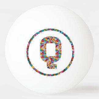 SALE PRICE ALPHABET ART QQQ 3* Ping Pong Ball