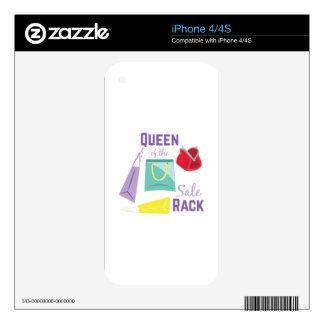 Sale Rack iPhone 4S Skin