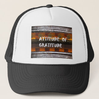 SALE Shirts Hoodie Jersey ATTITUDE of GRATITUDE Trucker Hat