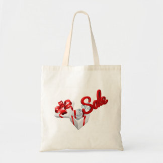 Sale Sign Jack in the Box Gift Concept Tote Bag