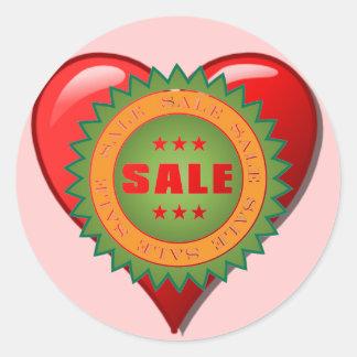 Sale Sticker Round Sticker