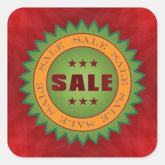 Sale Sticker Square Sticker
