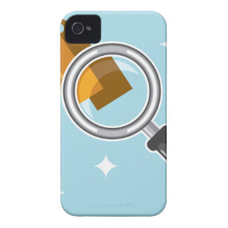 Sale Tags under magnifying glass vector iPhone 4 Case