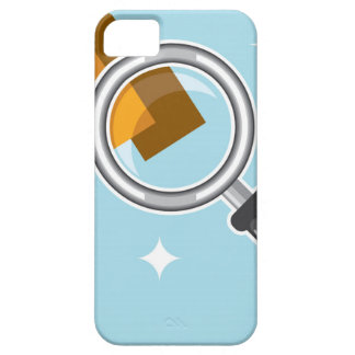 Sale Tags under magnifying glass vector iPhone SE/5/5s Case