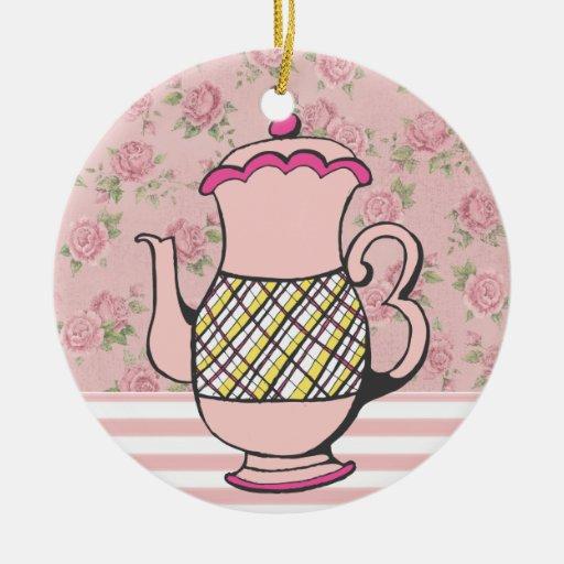 Sale! Tea Time Christmas Ornaments