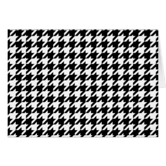 SALE - The CLASSIC HOUNDSTOOTH Card