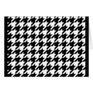 SALE - The CLASSIC HOUNDSTOOTH Greeting Card