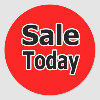 Sale Today Stickers