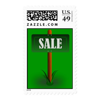 Sale_Vector_Clipart Postage Stamp
