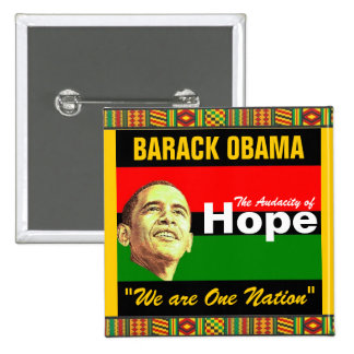 """SALE:  """"We are One Nation"""" 2 Inch Square Button"""