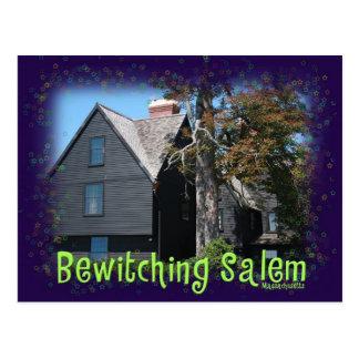 Salem Bewitching Tarjeta Postal