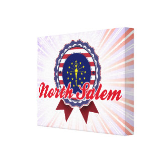 Salem del norte, ADENTRO Lienzo Envuelto Para Galerias