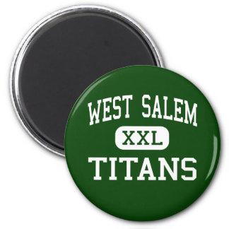 Salem del oeste - titanes - High School secundaria Iman Para Frigorífico