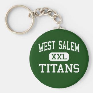Salem del oeste - titanes - High School secundaria Llaveros