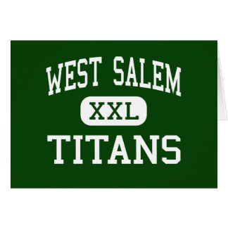 Salem del oeste - titanes - High School secundaria Tarjetas