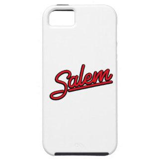 Salem en rojo funda para iPhone SE/5/5s