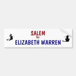 Salem for Elizabeth Warren 2012 Bumper Stickers