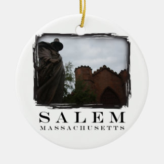 Salem Guard Ceramic Ornament