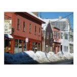 Salem in Winter Postcard
