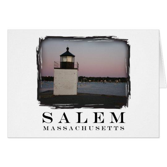 Salem Lighthouse Card