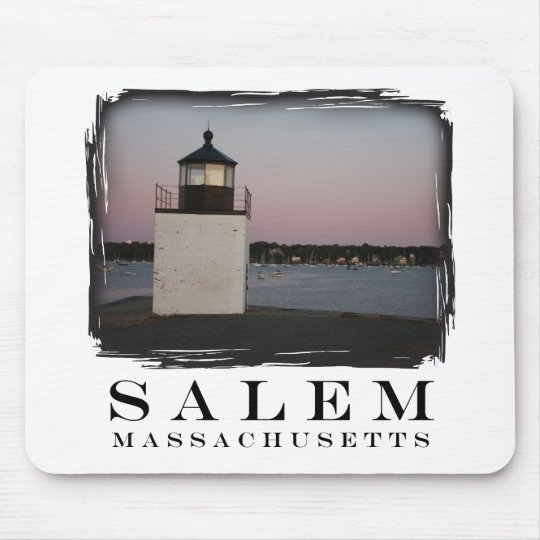 Salem Lighthouse Mouse Pad