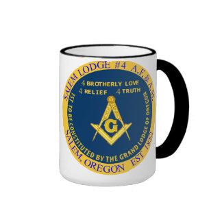 Salem Lodge No. 4 Black Mug