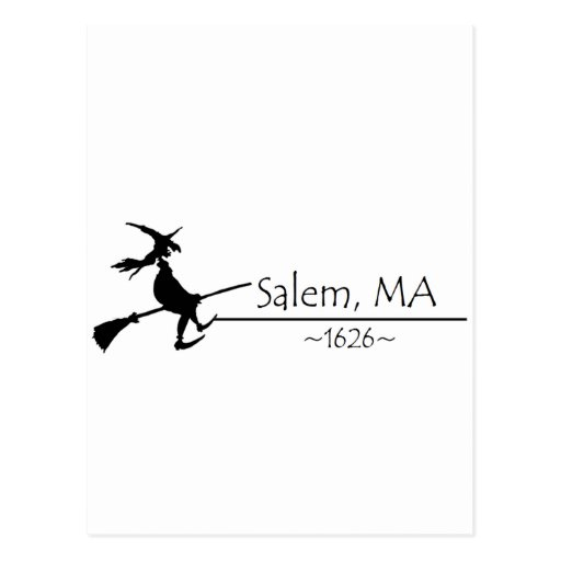 Salem, MA 1626 Postcard
