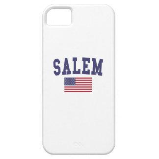 Salem MA US Flag iPhone SE/5/5s Case