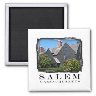 Salem Massachusetts Fridge Magnet