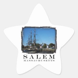 Salem Massachusetts Pegatina En Forma De Estrella