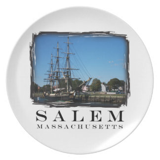 Salem Massachusetts Plate