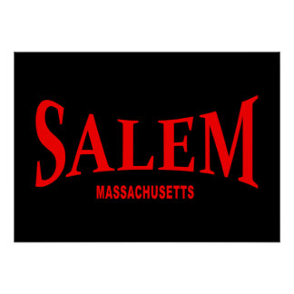 Salem Massachusetts - talk Poster