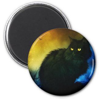 Salem Night 2 Inch Round Magnet