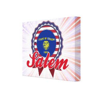 Salem, O Impresiones En Lienzo Estiradas