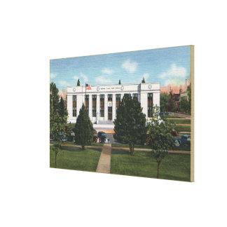 Salem, oficina ViewSalem de OregonPost, O Impresion De Lienzo