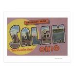 Salem, Ohio (The Quaker City) Postcard