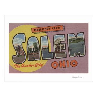 Salem Ohio The Quaker City Postcard