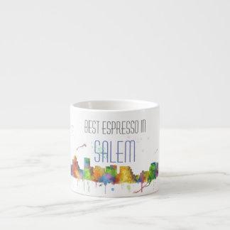 SALEM OREGON SKYLINE ESPRESSO CUP
