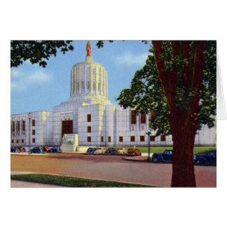 Salem Oregon State Capitol Card