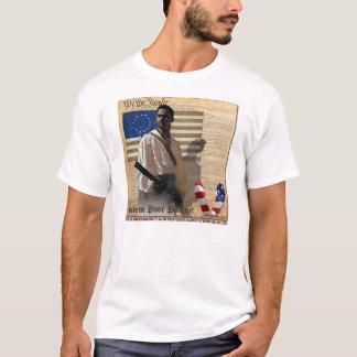 Salem Poor 1776 Black American Patriot T-Shirt