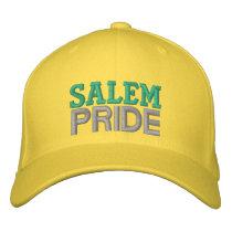 Salem pride embroidered baseball cap